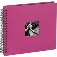 Fine Art Spiral Bound Album 28 x 24 cm 50 black pages Pink