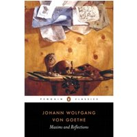 Maxims and Reflections by Johann Wolfgang von Goethe (Paperback, 1998)