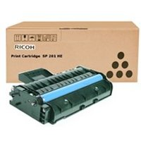 Ricoh 407254 (TYPE SP 201 HE) Toner black, 2.6K pages @ 5% coverage
