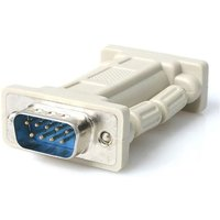 StarTech DB9 RS232 Serial Null Modem Adapter M/F