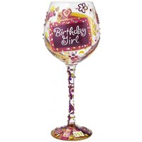 Superbling Birthday Girl Extra Large WineGlass