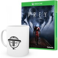 Prey Xbox One Game (Pre-order Bonus DLC) + Prey Mug