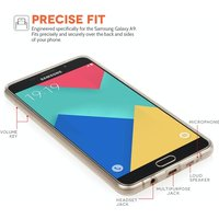 YouSave Accessories Samsung Galaxy A9 Ultra Thin Gel Case - Clear