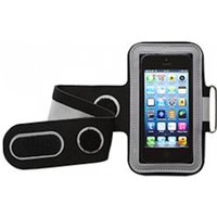 Groov-e GVAM1BG Universal Sport Armband for your Mobile Devices Black and Grey