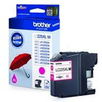 Brother LC-225XLM Ink cartridge magenta, 1.2K pages, 12ml