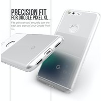 YouSave Accessories Google Pixel XL Ultra Thin Gel Case - Clear