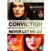 Conviction/Never Let Me Go Double Pack DVD