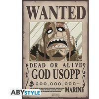 One Piece - Wanted Usopp New Small Poster