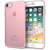 YouSave Accessories iPhone 8 Ultra Slim Inner Dots Gel Case - Rose Pink
