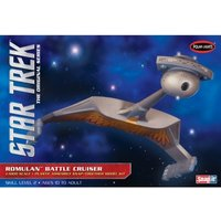 Star Trek 1:1000 Romulan Battle Cruiser Model Snap Kit