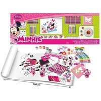 Disney Minnie Mouse My Colouring Meter with 100 Piece Creative Accessories Kit