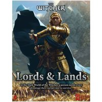 The Witcher RPG: Lords and Lands GM Screen