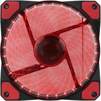 Evo Labs Vegas 120mm 1300RPM 32 x Red LED 9 Blade Fan