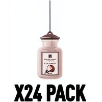 Coconut 2D (Pack Of 24) English Candle Air Freshener