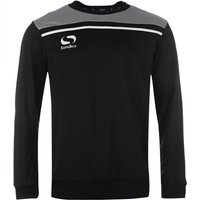 Sondico Precision Sweatshirt Youth 13 (XLB) Black/Charcoal