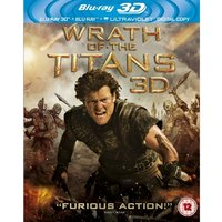 Wrath Of The Titans 3D Blu-ray + Blu-ray