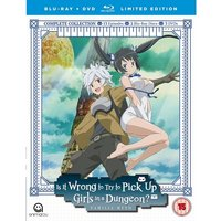 Is It Wrong To Try To Pick Up Girls In A Dungeon? Complete Season 1 - Collector's Edition Blu-ray
