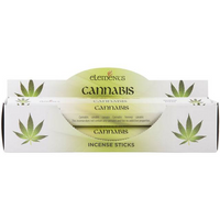 6 Packs of Elements Cannabis Incense Sticks