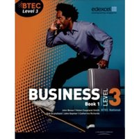 BTEC Level 3 National Business Student Book 1 by Catherine Richards, John Bevan, Rob Dransfield, John Goymer (Paperback,...