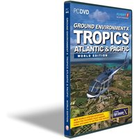 Ground Environment X Atlantic and Pacific Tropics World Edition for FSX Game