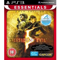 Resident Evil 5 Gold Edition (Move Compatible) Game (Essentials)