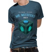 Rick And Morty - Meeseeks Box Men's XX-Large T-Shirt - Black