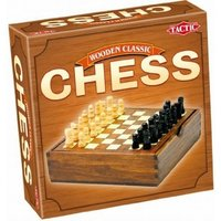 Chess - Wooden Classic Game - Travel Size