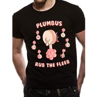 Rick And Morty - Plumbus Men's X-Large T-Shirt - Black