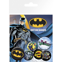 Batman Comic Logo and Joker Badge Pack