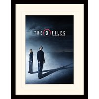 The X-Files - I Want to Believe Mounted & Framed 30 x 40cm Print