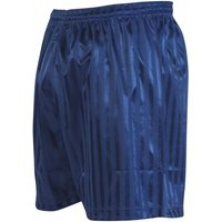 Precision Striped Continental Football Shorts 42-44 inch Navy Blue