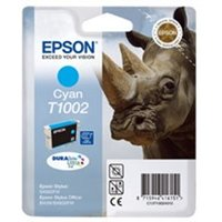 Epson C13T10024010 (T1002) Ink cartridge cyan, 915 pages, 11ml
