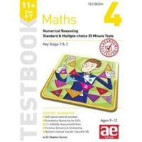 11+ Maths Year 5-7 Testbook 3 : Numerical Reasoning Standard & Multiple-Choice 35 Minute Tests