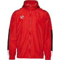Sondico Venata Rain Jacket Adult Small Red/White/Black