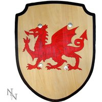 Welsh Toy Wooden Shield