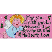 May Your Christmas Be Wrapped… Pack Of 12