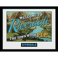 Riverdale Welcome Collector Print