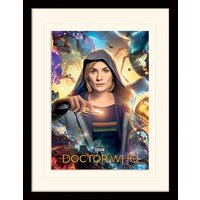 Doctor Who - Universe Is Calling Mounted & Framed 30 x 40cm Print