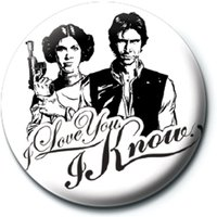 Star Wars - I Love You Badge