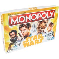 Ex-Display Star Wars Han Solo Monopoly Board Game Used - Like New
