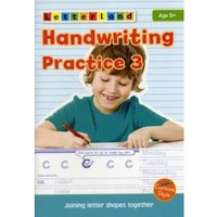 Handwriting Practice : Joining Letter Shapes Together 3