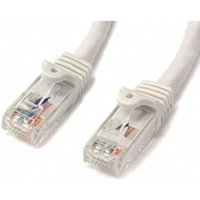 3 ft White Snagless Cat6 UTP Patch Cable - ETL Verified