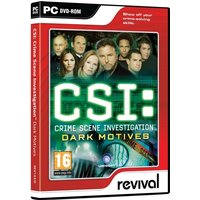 CSI Crime Scene Investigation Dark Motives Game