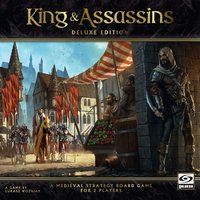 King & Assassins Deluxe Board Game
