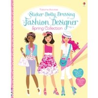 Sticker Dolly Dressing Fashion Designer Spring Collection by Fiona Watt (Paperback, 2014)