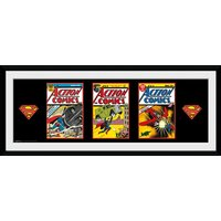 Superman 3 Comics Framed Collector Print