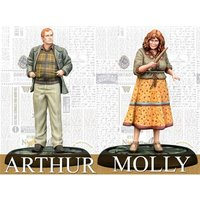 Harry Potter Miniatures Adventure Game Molly and Arthur Weasley Expansion