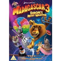 Madagascar 3 Europe's Most Wanted DVD