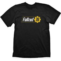 Fallout - Vault 76 Logo Men's X-Large T-Shirt - Black