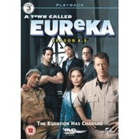 Eureka Season 4.5 DVD